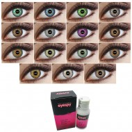 Monthly Wear 3 Tone Contact Lenses + 60ml Solution