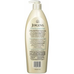 Jergens Daily Moisture 24-Hour Dry Skin Moisturizer with Silky Protein 621ml