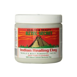 Aztec Indian Healing Calcium Bentonite Clay Face Mask Natural 1lb