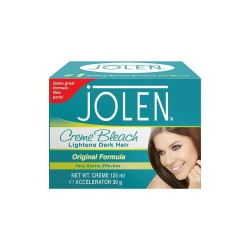 Jolen Creme Bleach Original - Lightens Excessively Dark Hair - 125ml