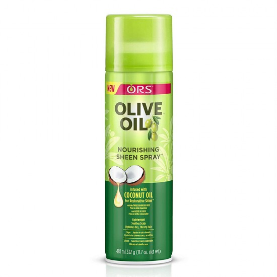 ORS Olive Oil Nourishing Sheen Spray infused with Coconut Oil - 472Ml