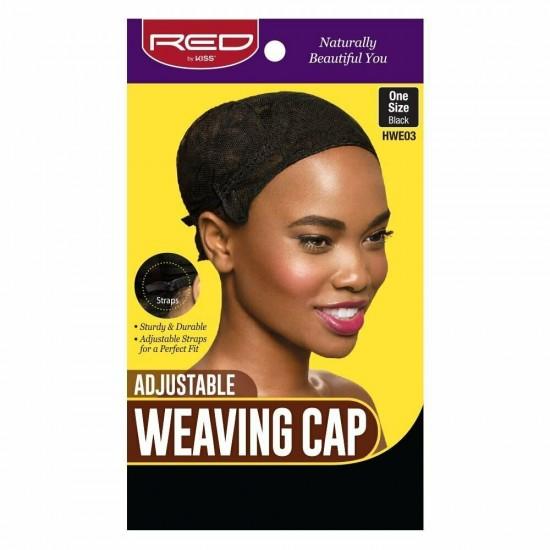 Red by Kiss - Adjustable Weaving Cap Black - HWE03