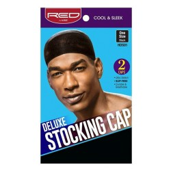 Red by Kiss Deluxe Stocking Cap - Black - HDS01