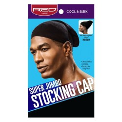 Red by Kiss Super Jumbo Stocking Cap Black - HDS02