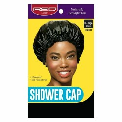 Red by Kiss X-Large Shower Cap - Black - HSH01