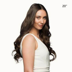 Stranded International Fibre One Piece Straight Clip in Hair Extensions 20 inch
