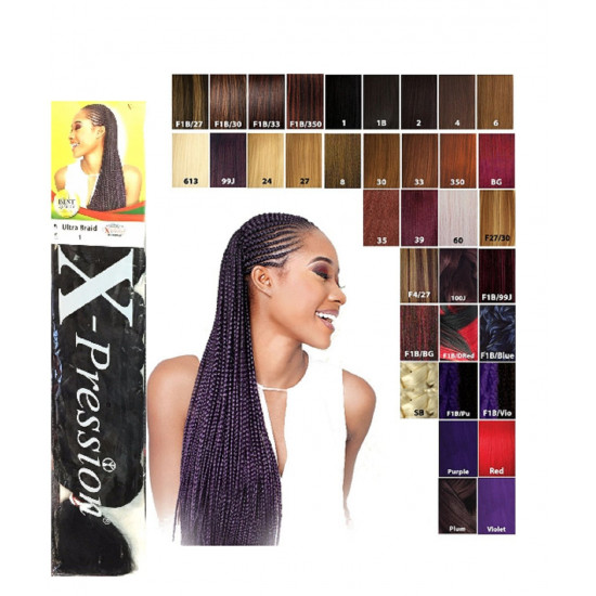 X-pression Ultra Braid Hair Extension