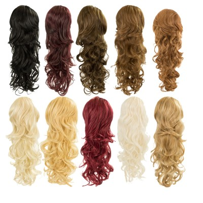 KOKO Molly Bump-Up Curly Drawtring Ponytail